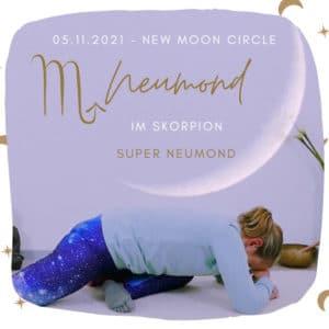 Live Yin Yoga Super Neumond im Skorpion